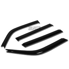 Fit 96-00 Toyota Rav4 Smoke Tint Window Visor/Wind Deflector Vent Rain Guard