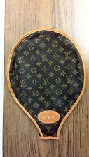 AUTHENTIC LOUIS VUITTON French Co. 1980's TENNIS RACKET COVER  GOOD CONDITION