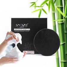 Bamboo Charcoal Blackhead Acne Remover Oil Control Handmade Bar Soap Bath & Body