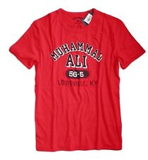 Lucky Brand - Mens M - NWT - Red Muhammad Ali Louisville KY Cotton T-Shirt