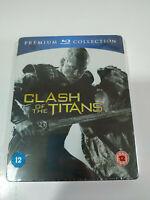 Clash of the Titans Sam Worthington Blu-Ray Steelbook + Extras Español Ingles AM