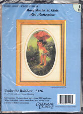 Counted Cross Stitch Kit:  Under the Rainbow Fairy  Mary Baxter St Clair