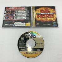 Die Hard Trilogy Sega Saturn SS Japan Import - US Seller!