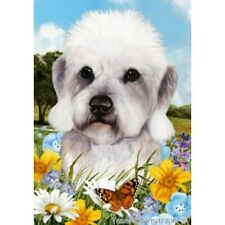 Summer Garden Flag - Pepper Dandie Dinmont Terrier 182111