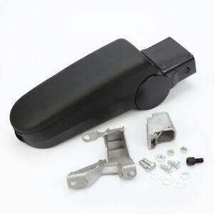 Black New Leather Center Console Armrest for VW Passat B5 Golf Jetta Bora MK4