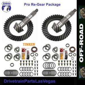 Jeep JK Rubicon Ring Pinion Dana 44 2007 2018 Yukon Gear 4.88 Timken Master Kits