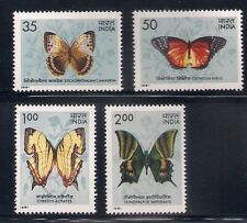 India   1981   Sc # 935-38   Butterflies   MNH   OG   (53521-5)
