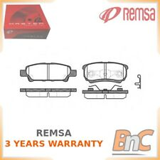 REAR DISC BRAKE PAD SET REMSA OEM 05191271AB 105102