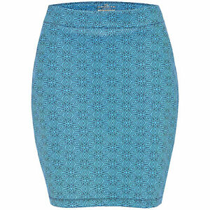 SPORTE LEISURE LADIES PRINTED COSMOS BLUE SKORT