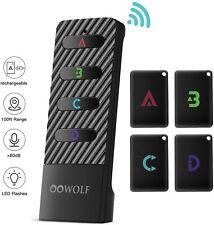 Oowolf >80Db Wireless Key Finder Tracker Anti-Lost Alarm Rf Item Key Locator