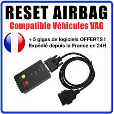 RESET AIRBAG - Réinitialisation AIRBAG Compatible VW AUDI SEAT SKODA - COM