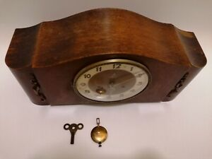 Antique /UWS/German / Circa 1925/VGC/Westminster Chime/🕰️🕰️🕰️/Clock./ Mantel.