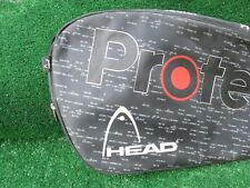 Tennis Head Protector Electronic Dampening Tennis Racket Bag Light Use XLNT Cond