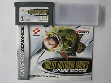 ESPN Great Outdoor Games: Bass 2002 (Nintendo Game Boy Advance, 2001)