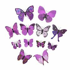 Wall Stickers 3D Butterfly Wall Stickers Home Decor Room Decoration 12pcs PK