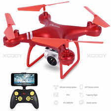 RTF Camera Drone Video Selfie 2.4G 6-Axis RC Quadcopter with WiFi HD FPV Hover
