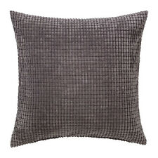 IKEA Decorate Your Home With GULLKLOCKA Chenille Cushion Cover 50x50cm Grey