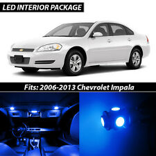 2006-2013 Chevrolet Impala Blue Interior LED Lights Package Kit