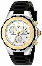 MICHELE MWW12F000057 Womens Tahitian Jelly Analog Display Quartz Black Watch
