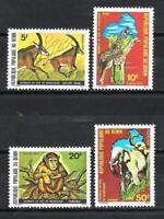 Animaux Faune sauvage Bénin (109) série complète 4 timbres neufs** 1er choix