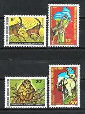 Animals Fauna sauvage Benin (109) complete set 4 stamps new 1st choice