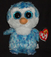 TY BEANIE BOOS BOO'S - ICE CUBE the PENGUIN - MINT with NEAR PERFECT TAG