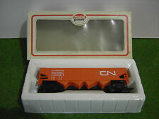 WAGON TRAIN miniature HO 40' HOPPER C.N. coul orange echelle 1/87ème MODEL POWER