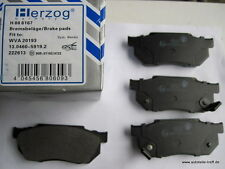 10 x Bremsbeläge vorne Honda Civic Prelude von Herzog Germany
