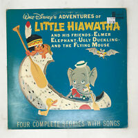 Disney Adventures Of Little Hiawatha LP Vinyl Record Original 1962