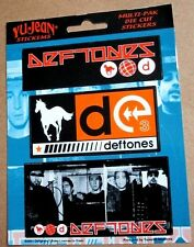 Deftones - 3 Stickers Sheet white pony