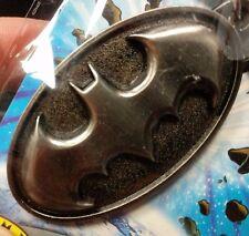 Batman Pewter Logo DC Comics Bat Signal Key Chain Ring Charm Bag Clip NWT