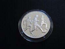 "Cook Islands  5 Dollars  1991  ""World Cup '94""   PP  500'er Silber !!"