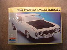 1969 Ford Talladega ~ Vintage Monogram Model Kit #2912 ~ 1/24 Scale