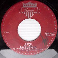 RAY McKINSTRY pop instrumental UNITED 45 HORA STACATTO  b/w DINAH dm267