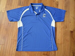 Creighton Bluejays University polo shirt size 2XL Made by Champion Elite