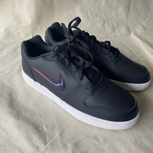 Nike Ebernon Low Premium Leather Shoes Sneakers Mens Size 12 AQ1774-003 (J)