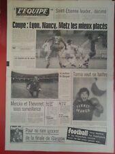 journal  l'équipe 05/05/76 FOOTBALL LYON PARIS SG  BOXE GRATIEN TONNA