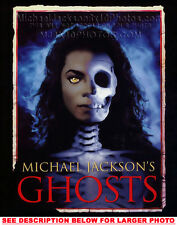 MICHAEL JACKSON GHOSTS POSTER (1) RARE  PHOTO