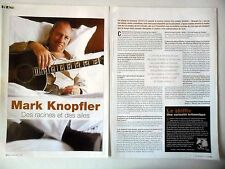 COUPURE DE PRESSE-CLIPPING : MARK KNOPFLER [2pages] 09/2004 Interview,Shangri-La