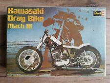 Revell H-1275 Kawasaki Drag Bike Mach III in 1:8 von 1971 selten NEU & OVP