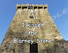 Ireland - I KISSED THE BLARNEY STONE - Travel Souvenir Flexible Fridge Magnet