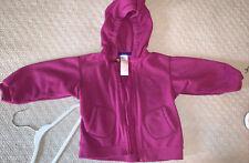 Patagonia purple fleece jacket zip up hoodie 18M 18 month