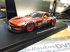 MERCEDES BENZ SLS AMG GT3 Pro R 43 Resine Sondermodell Club 2012 SP Schuco 1:43