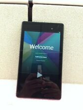"Asus Google  Nexus 7 16GB  7"" Black Android Tablet WiFi 