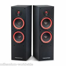 """CERWIN VEGA SL-28 300W SPEAKERS / DUAL 8"""" WOOFERS / HOME THEATER SET / Auth. DLR"""