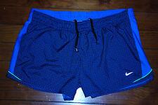 Women's Nike DriFit Teal Blue DIstance Running Shorts (X-Large)