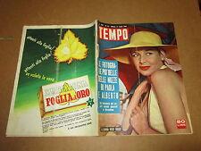 RIVISTA IL TEMPO LUGLIO 1959 ELEONORA ROSSI DRAGO REALI DEL BELGIO DIETRICH