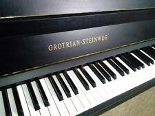 Schwarzes Klavier von Grotrian-Steinweg, überholt und gestimmt