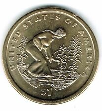 2009-D $1 Brilliant Uncirculated Business Strike Native American Dollar Coin!