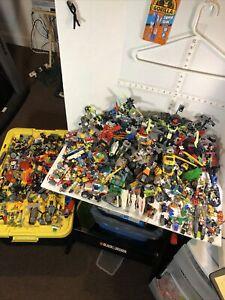 Huge LEGO Lot Incomplete Sets - Retired -Police, Dinosaur, Ninjago, Chima & Figs